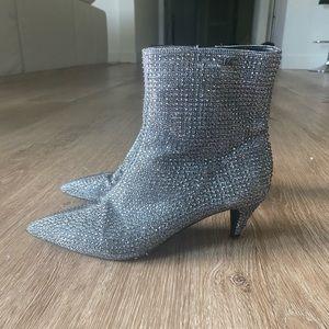 Michael Kors Crystal Sock Booties in 37